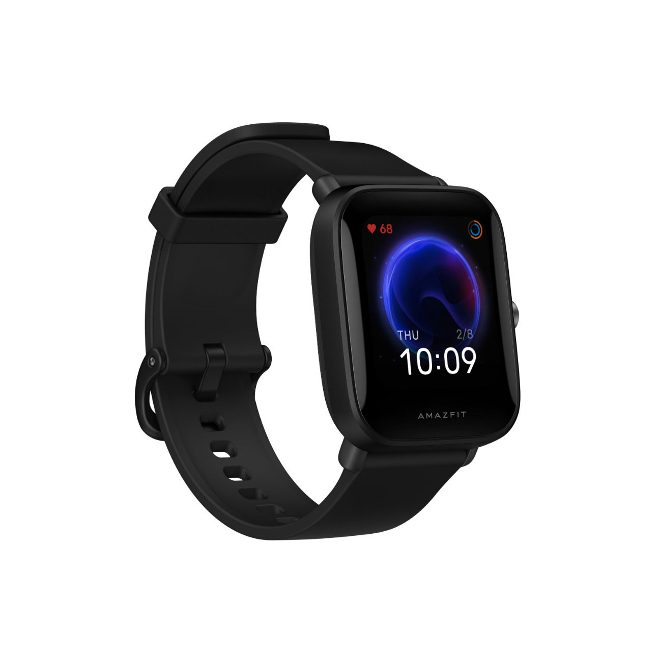 Amazfit Bip U 41mm Smartwatch Black  A2017 / W2017OV1N (2 χρόνια εγγύηση)