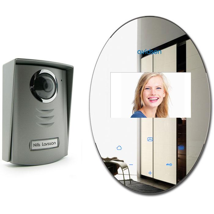 AVIDSEN 112268 SPEGEL SET VIDEO ENTRYPHONE WITH MIRROR EFFECT (2 WIRES CONNECTIO