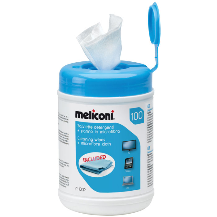 MELICONI 621005 C-100P CLEANING WIPES
