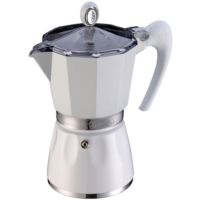 GAT 103803 WHITE BELLA 3 CUPS COFFEE-MAKER