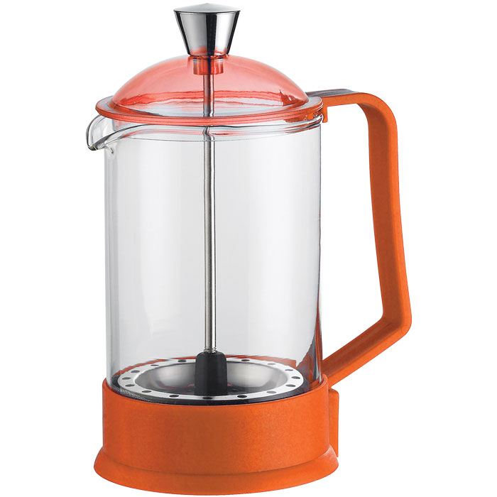 GAT 106800 ORANGE FANTASIA COFFEE-PRESS