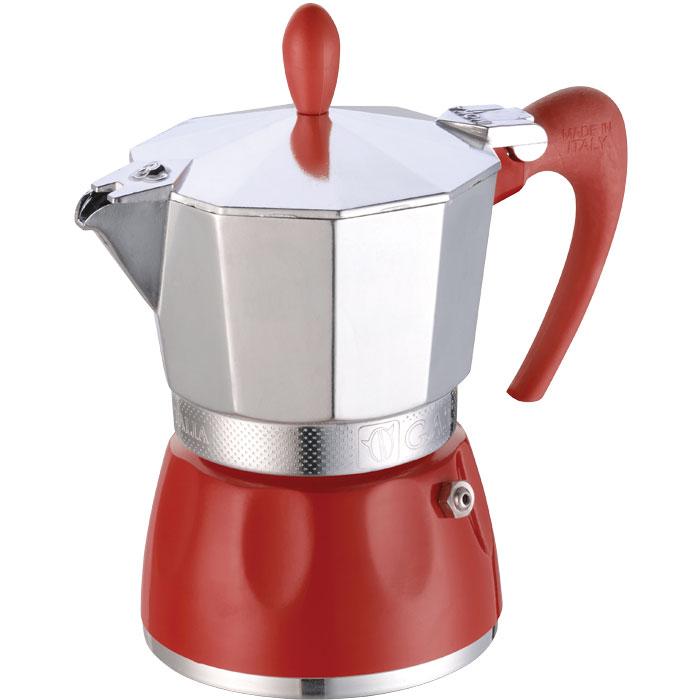 GAT 100003 RED DELIZIA 3 CUPS COFFEE MAKER