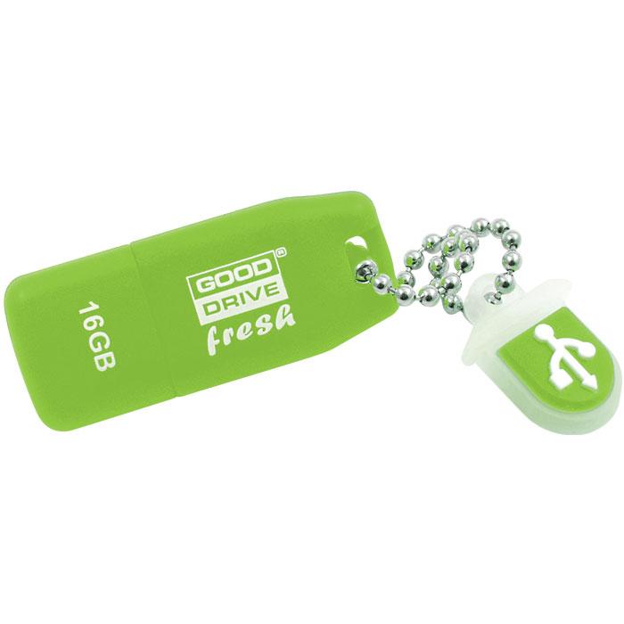 GRAM USB STICK 16GB LIME FRESH USB 2.0 / PD16GH2GRFLR9