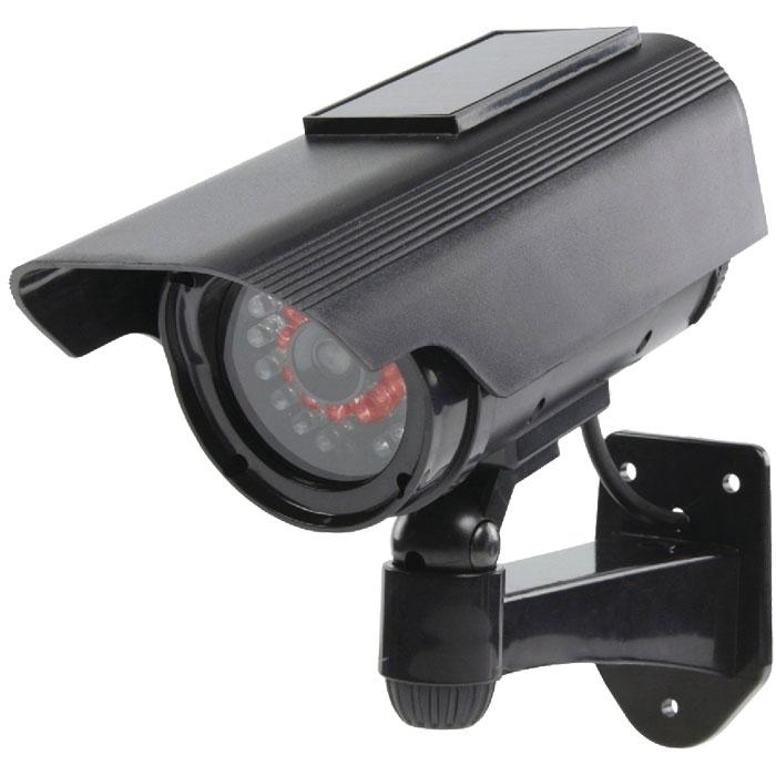 SAS-DUMMY CAM 90 camera with solar panel and IR LEDs