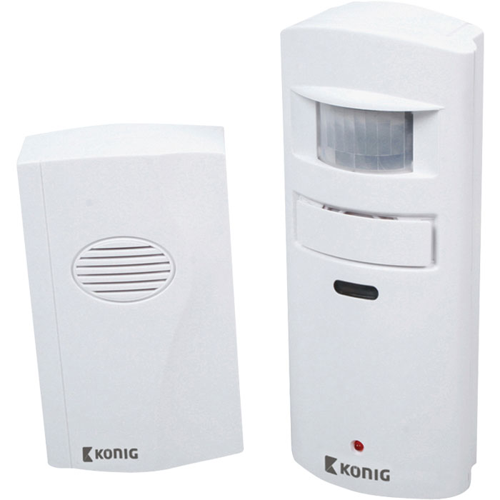 SAS-APW 10 Alarm with motion detector 130 dB