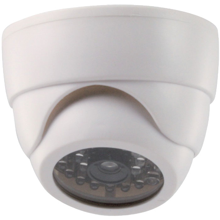 SAS-DUMMY CAM 60 indoor dome camera IR flashing LED
