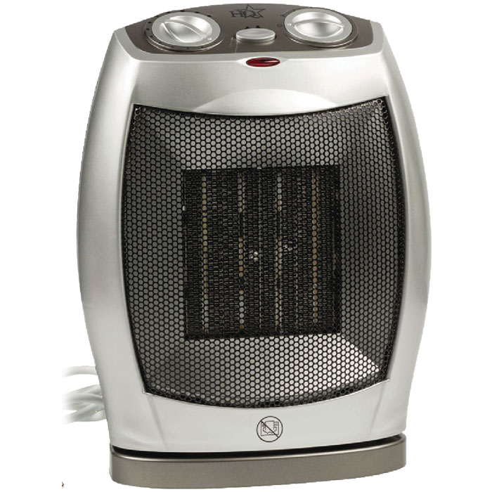 HQ-FH12 Ceramic fan heater 750 & 1500 W