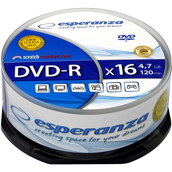 ESP DVD-R 4,7GB X16 - CAKE BOX 25 PCS