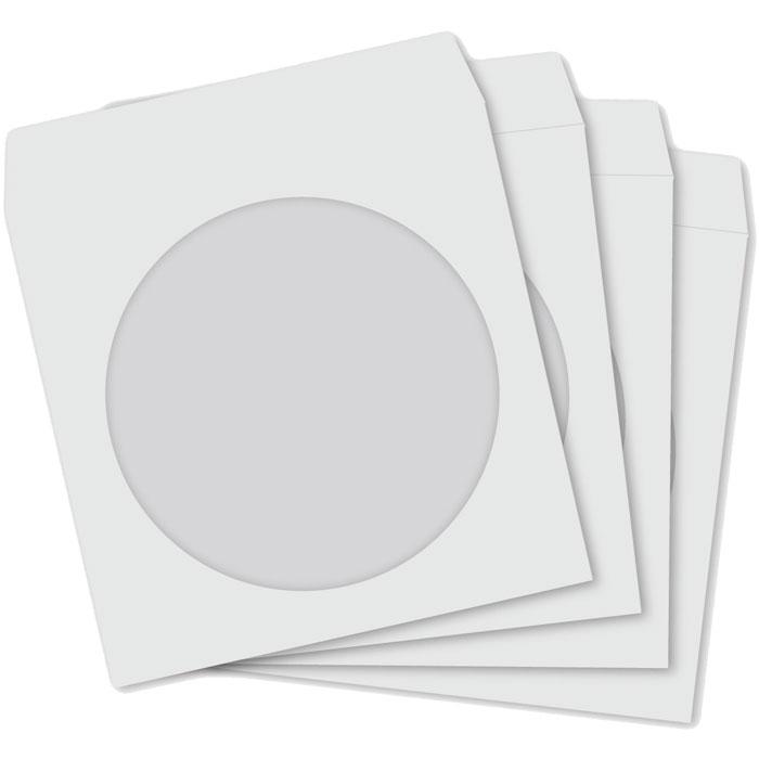 ESP ENVELOPES FOR CD - WITH WINDOW - SET 100 PCS