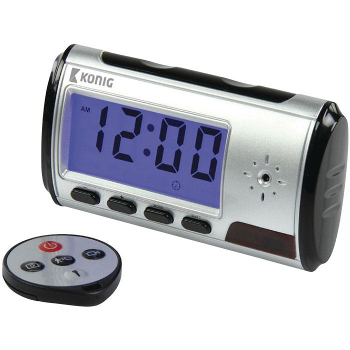 SAS-DVRD CD10 Spy cam clock