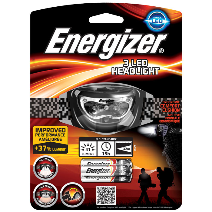ENERGIZER 3LED UNIVERSAL HEADLIGHT