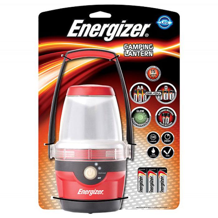 ENERGIZER CAMPING LANTERN & 3xAA