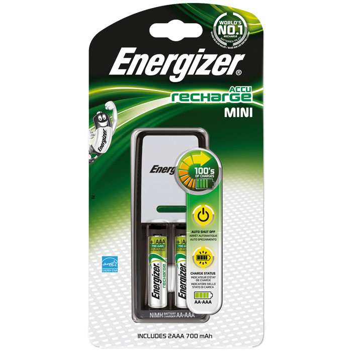 ENERGIZER MINI CHARGER & 2xAAA