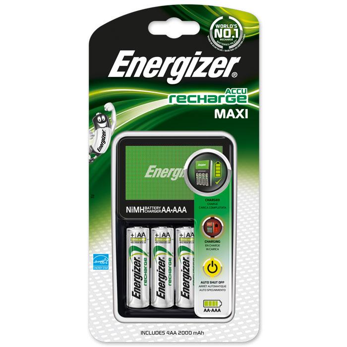 ENERGIZER MAXI CHARGER & 4xAA