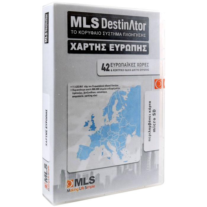 MLS EUROPE MAPS FOR IQTALK/IQTAB