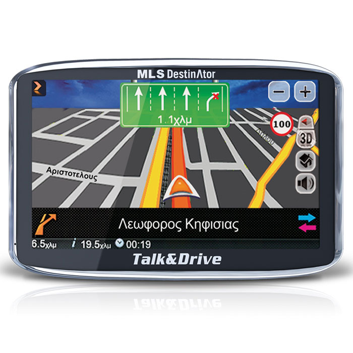 MLS DESTINATOR 43 TSP TALK&DRIVE (EUROPE)  33.ΜL.520.170