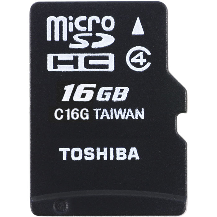 TOS MICROSD 16GB M102 CLASS 4 WITH ADAPTER