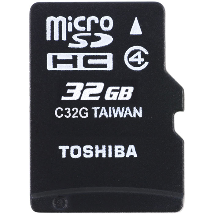 TOS MICROSD 32GB M102 CLASS 4 WITH ADAPTER