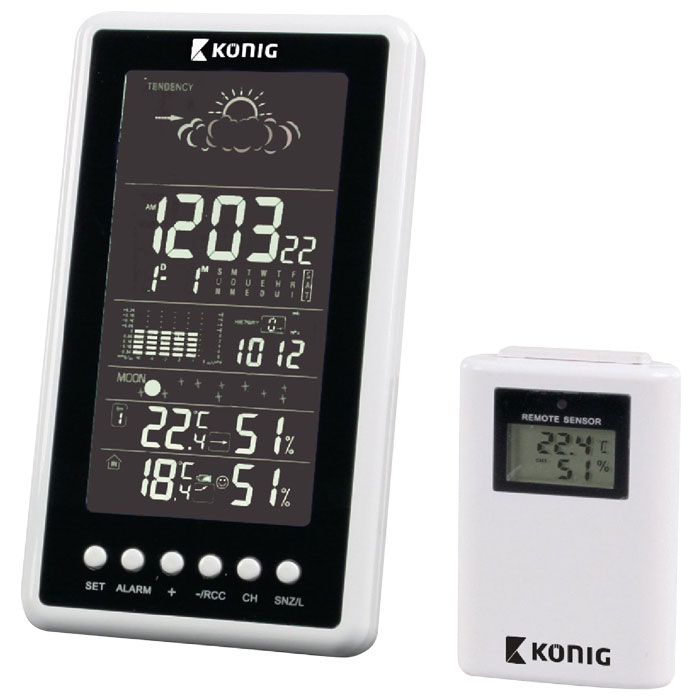 KN-WS 540N Wireless weather station
