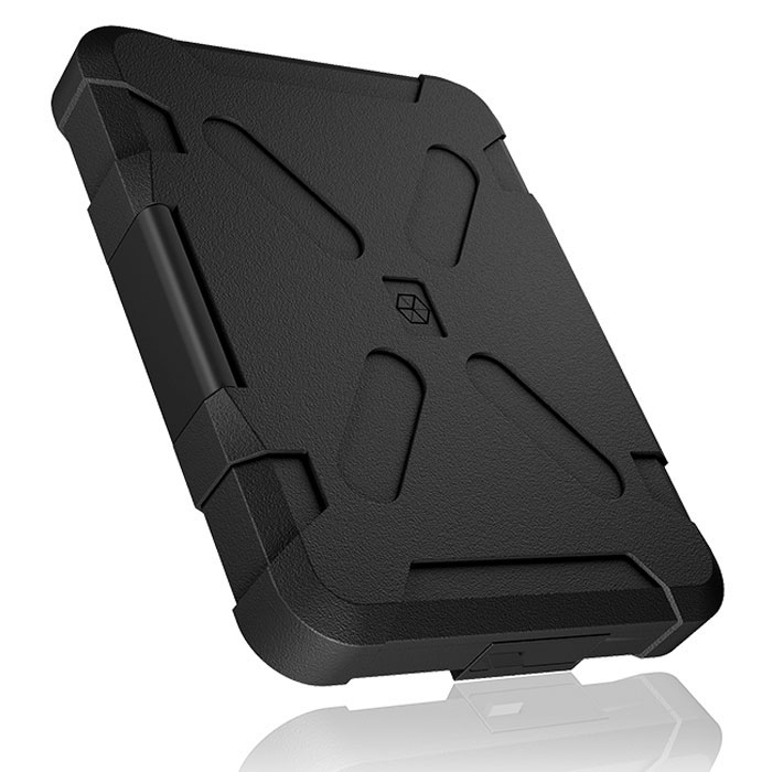 "ICY BOX IB-278U3 EXT. WATERPROOF CASE FOR 2,5"" UASP SILICONE PROTECTION /30234"