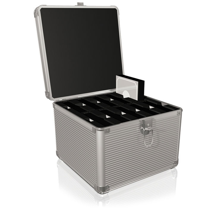 "ICY BOX IB-AC628 TRANSPORT SUITCASE FOR 10x3,5"" HDDs /70628"