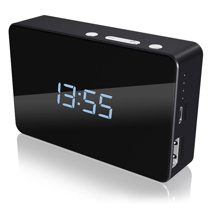 ICY BOX IB-PBA5000 POWER BANK 5000MAH DIGITAL CLOCK /70809