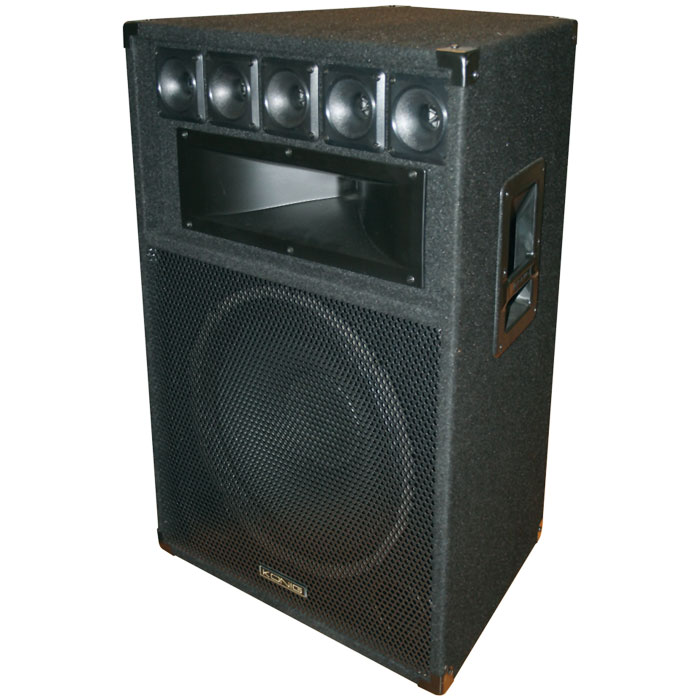 "PA-SP 150 KONIG 3-WAY 15"" 600W PA LOUDSPEAKER"