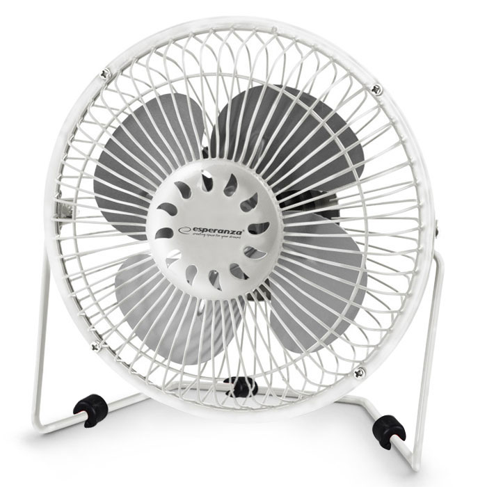 "ESP 6"" USB FAN YUGO WHITE EA149W"