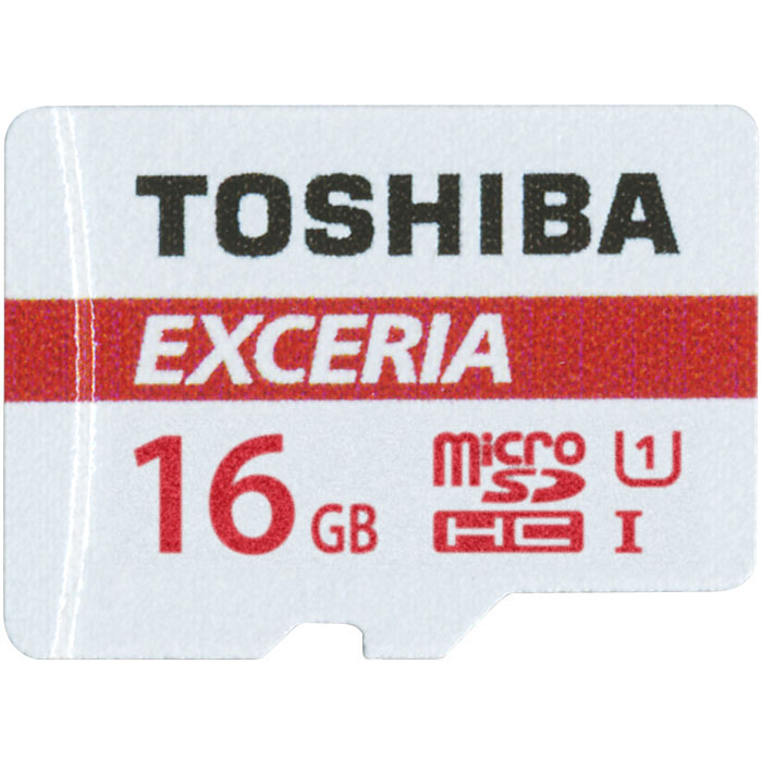 TOS MICROSD 16GB M302 EXCERIA UHS I U1 WITH ADAPTER / THN-M302R0160EA