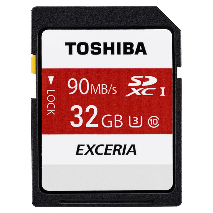 TOS SDHC 32GB SD N302 CLASS 10 R90 UHS-I