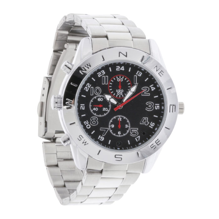 SAS-DVRW W10 Wristwatch with Integrated Camera 8 GB