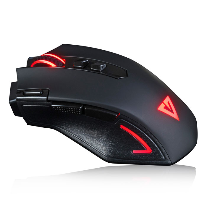 MODECOM MC-GMX3 VOLCANO WIRED GAMING MOUSE BLACK