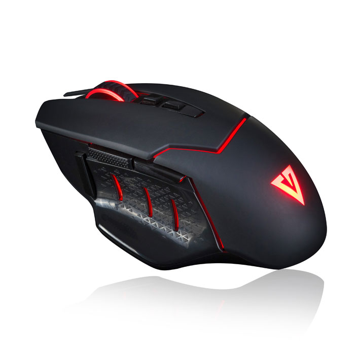 MODECOM MC-GMX4 VOLCANO WIRED GAMING MOUSE BLACK