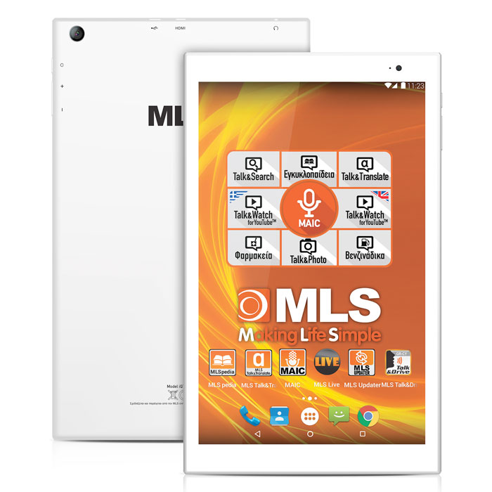 """MLS SPIN octacore Tablet 10,1"""""""