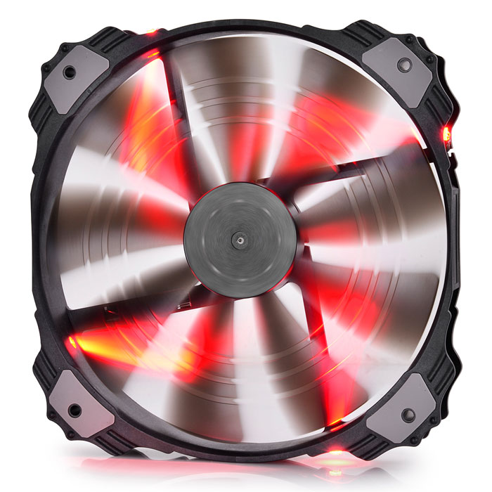 DEEPCOOL XFAN 200 RED COOLING FAN 200mm