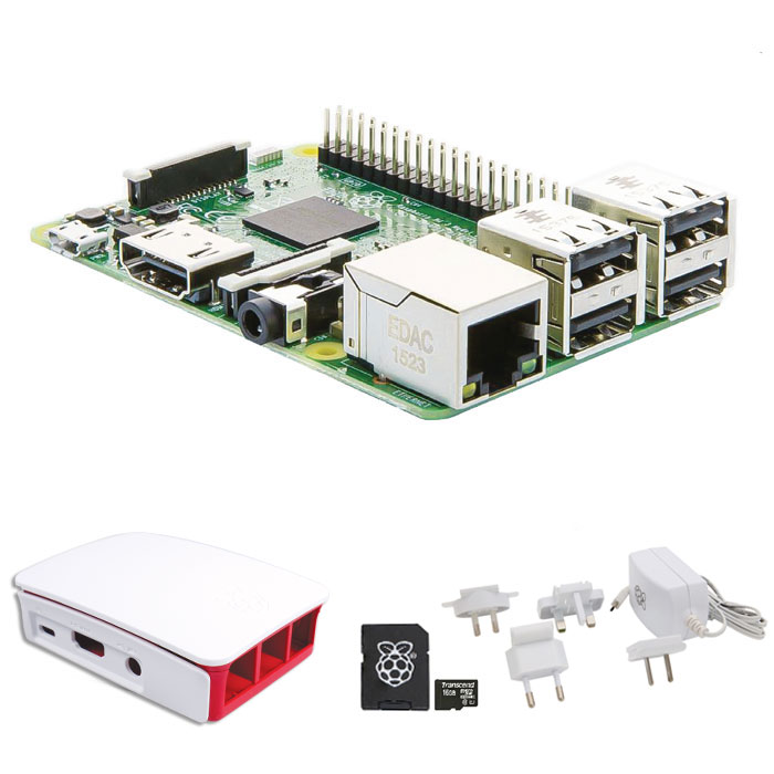RASPBERRY Pi ESSENTIALS KIT WiFi + NOOBS software tool
