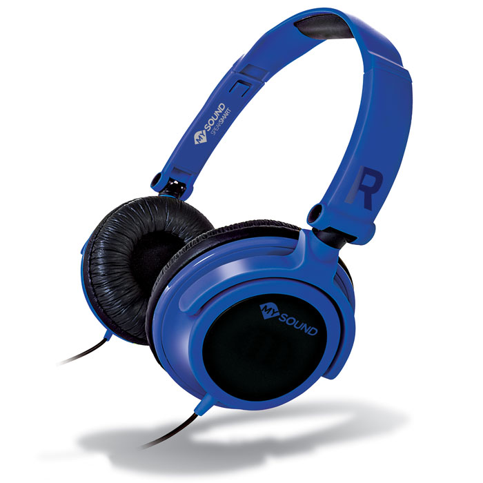 MELICONI MYSOUND SPEAK SMART FLUO BLUE-BLACK