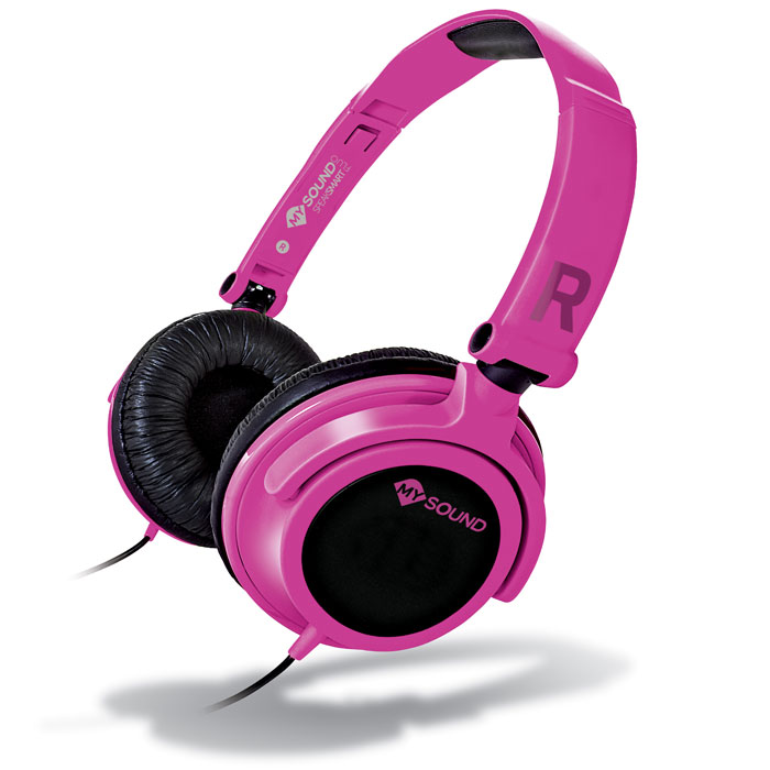 MELICONI MYSOUND SPEAK SMART FLUO FUCSIA-BLACK