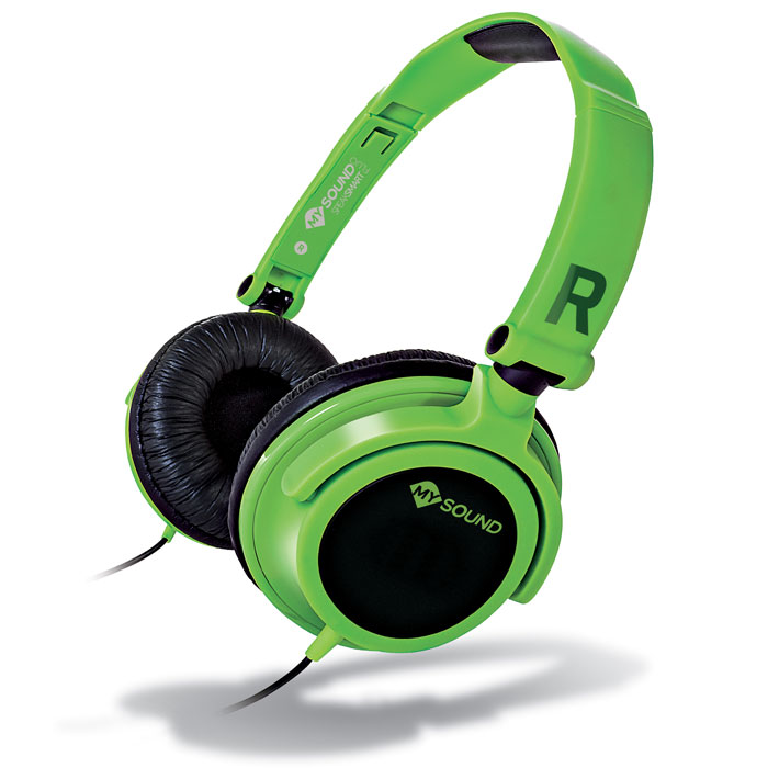 MELICONI MYSOUND SPEAK SMART FLUO GREEN-BLACK