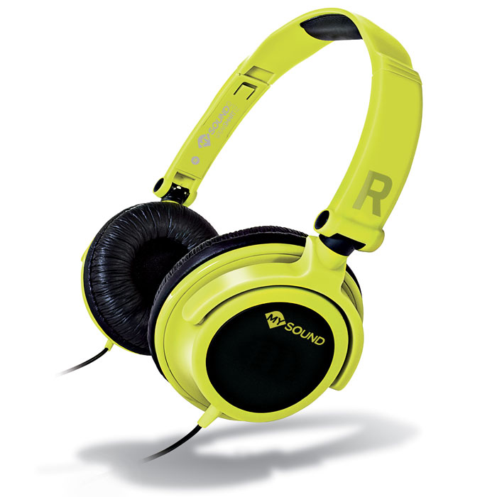 MELICONI MYSOUND SPEAK SMART FLUO YELLOW-BLACK