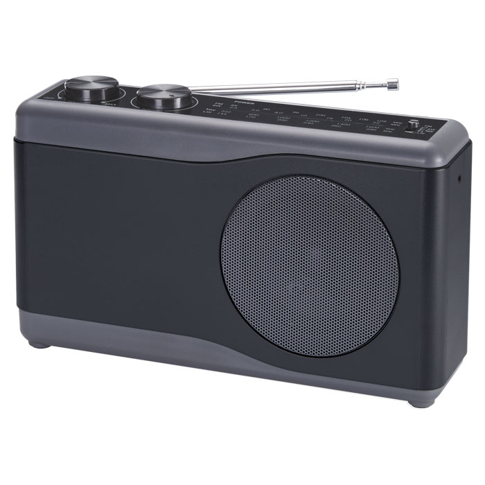 BIGBEN TR23 BLACK PORTABLE RADIO 4 BANDS