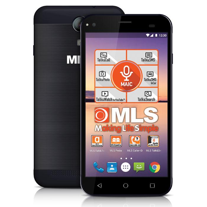 MLS ALU 3G 5.5 BLACK DUAL SIM