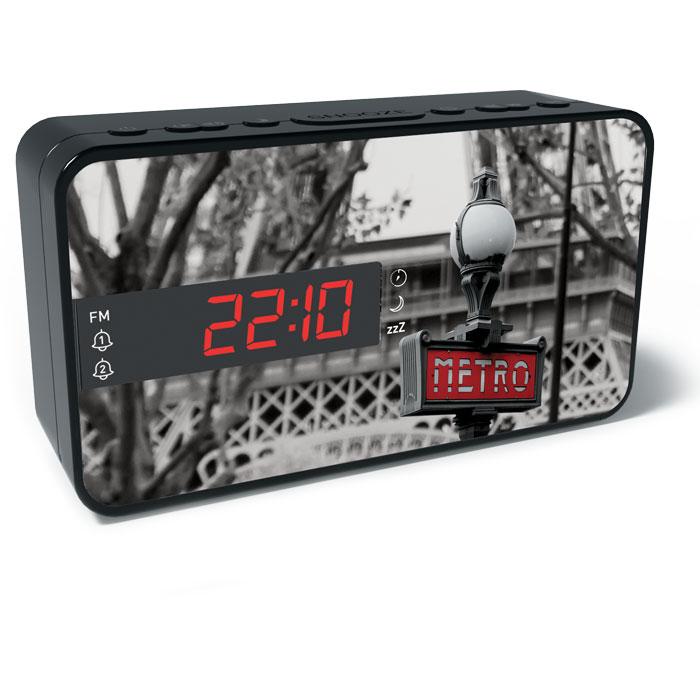 BIGBEN RR15 METRO FM RADIO AND ALARM WITH LED DISPLAY