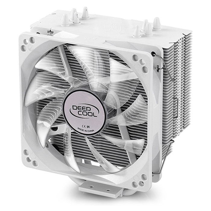 DEEPCOOL GAMMAXX 400 WHITE CPU COOLER - INTEL & AMD