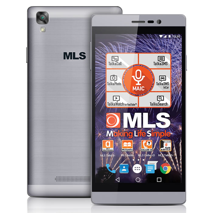 MLS ENERGY 4G GREY DUAL SIM