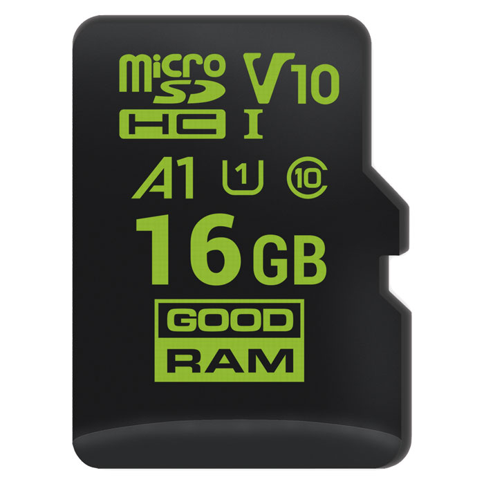 GRAM MICROSD 16GB FOR ANDROID M1A0 A1 CLASS 10 UHS-I V10 / M1A0-0160R11-A1