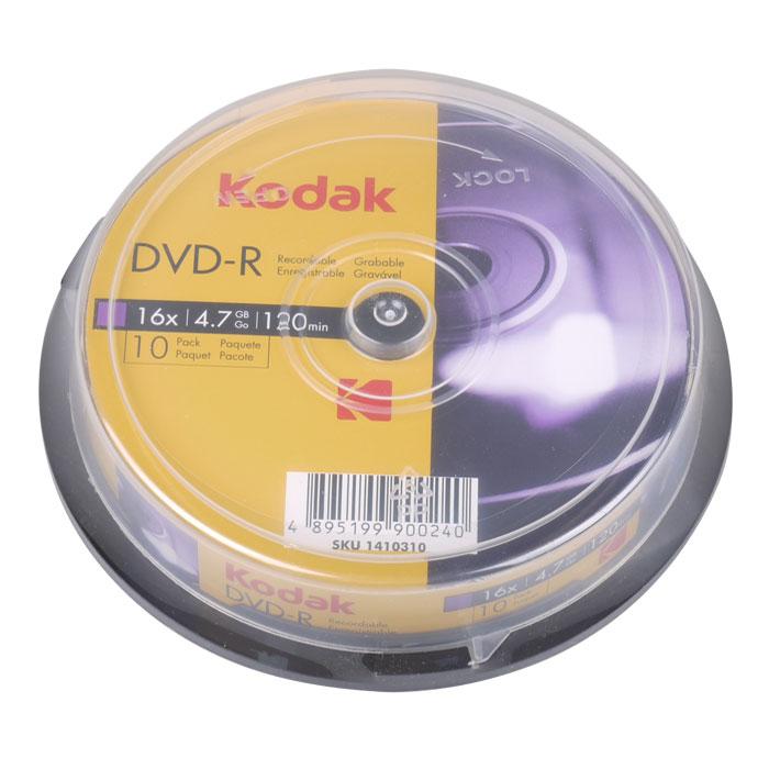 KODAK DVD-R 16x 4.7GB 10-Pack