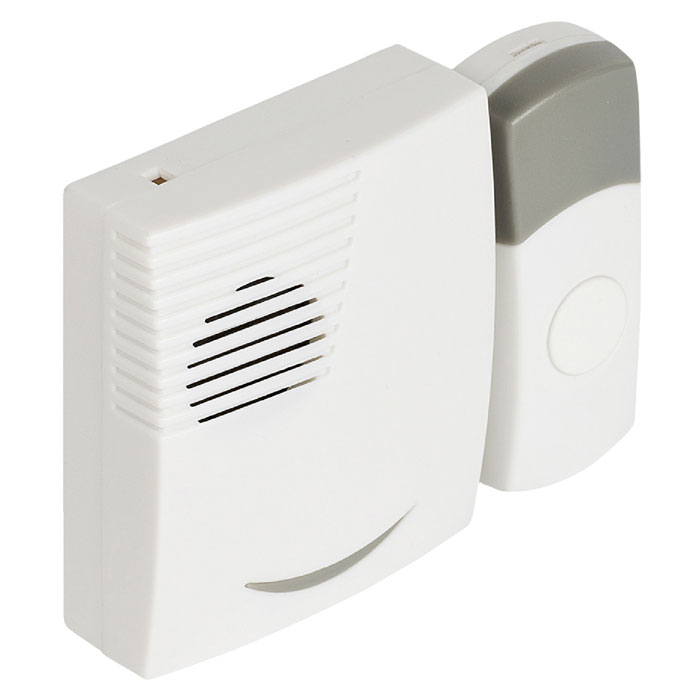SVL-WDB 201 Wireless Doorbell Set Battery Powered 70 dB White/Grey