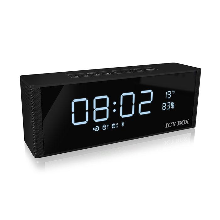ICY BOX IB-SP101-BT Bluetooth FM radio, clock, alarm, speaker and MP3 Player /