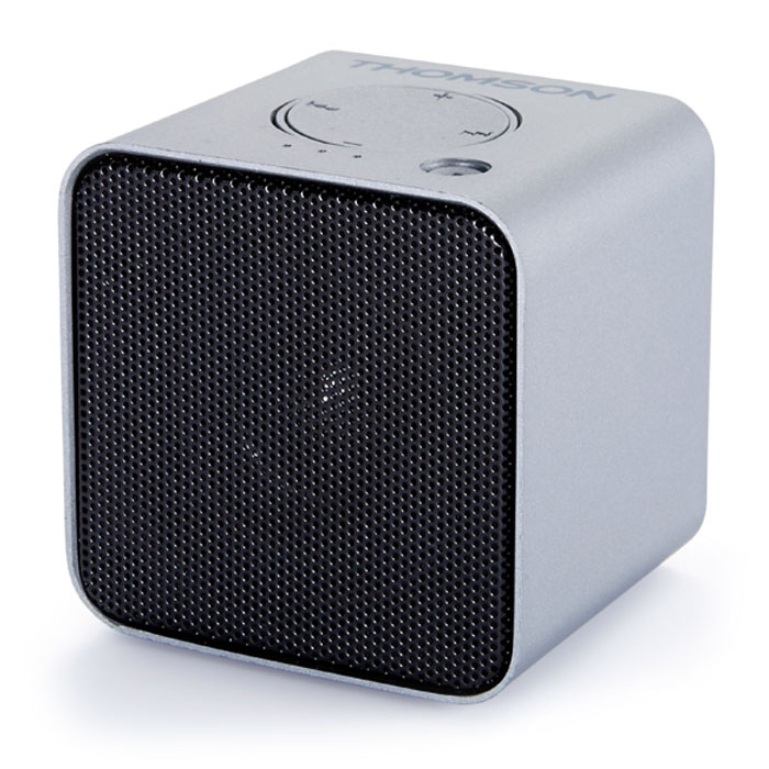 THOMSON WS01GM SILVER BLUETOOTH SPEAKER 3W